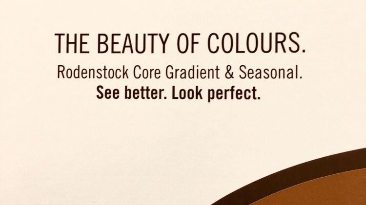 The beuty of colours Rodenstock Optikerinn